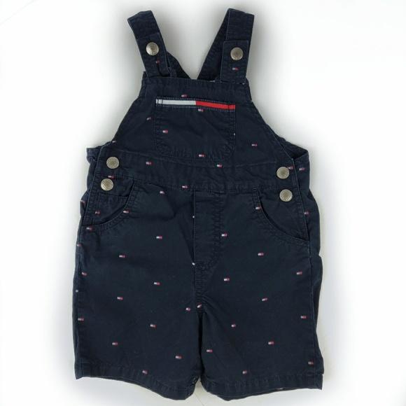 f776863f Tommy Hilfiger Bottoms   Baby Boygirl Vintage Shortalls A8   Poshmark